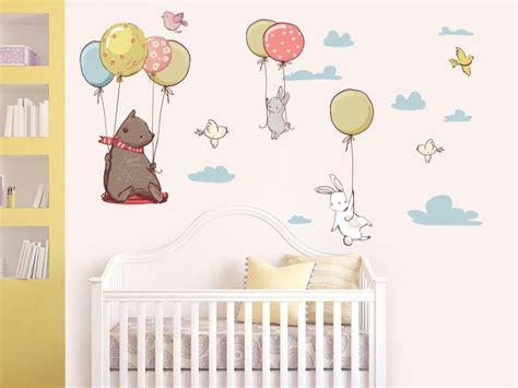 ayicik ve arkadaslari bebek odasi duvar sticker