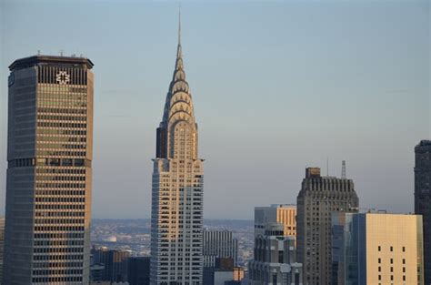 Chrysler Tower by Chrysler Tower Al Tramonto Dal Bar54 Picture Of Bar 54