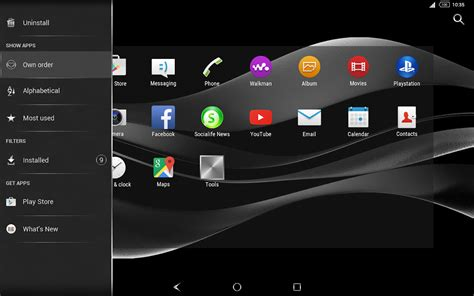 best themes for android tablet free download black silver theme for xperia android apps on google play