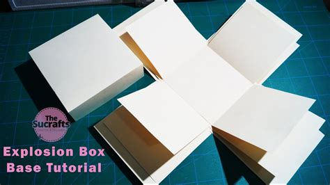 explosion box tutorial tagalog explosion box tutorial easy steps the sucrafts