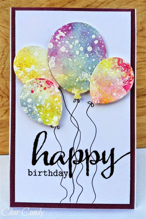 Ideas For Handmade Birthday Cards - best 25 handmade birthday cards ideas on