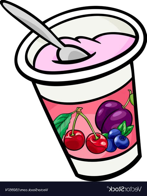 clipart yogurt yogurt clip art cartoon vector createmepink
