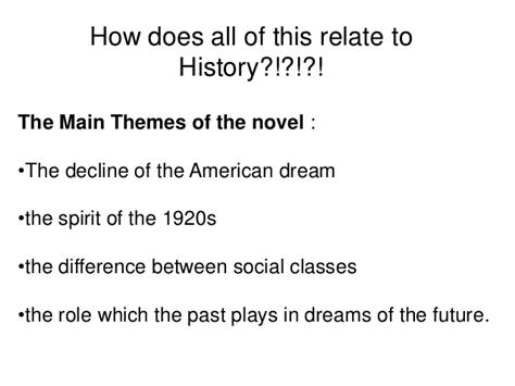 major themes of the great gatsby darah gatsby