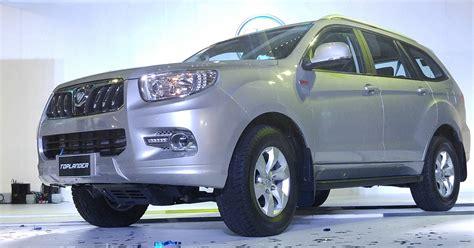 foton ph introduces  toplander diesel suv