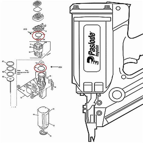 paslode framing nailer parts diagram paslode cordless 900420 o ring kit 2 parts ebay