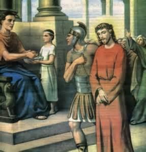 imagenes de jesus ante pilato marzo 2010 un evangelio para la gestion