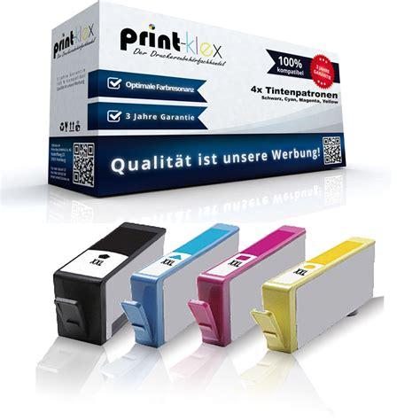 Hp 920 Xl Magenta Tinta Printer 4x compatible xl cartuchos de tinta para hp officejet 6500