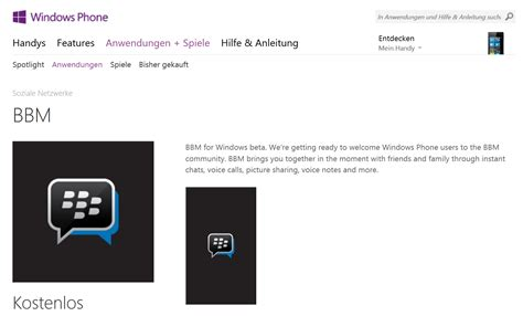 wann kommt windows phone 8 1 blackberry messenger kommt auch f 252 r windows phone heise