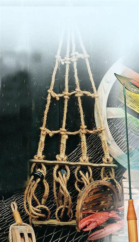 buy nautical decorative rope ladders antique ship decor