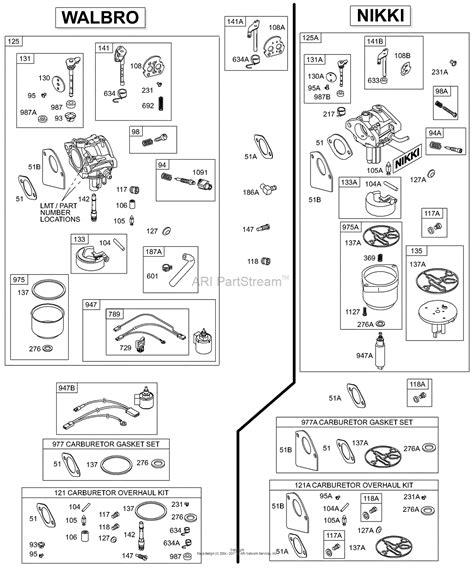 walbro carb diagram wiring diagram schemes