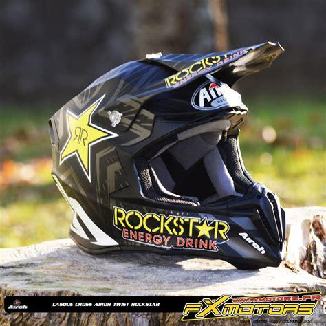 Helm Airoh Twist Rockstar casque cross airoh twist rockstar fx motors