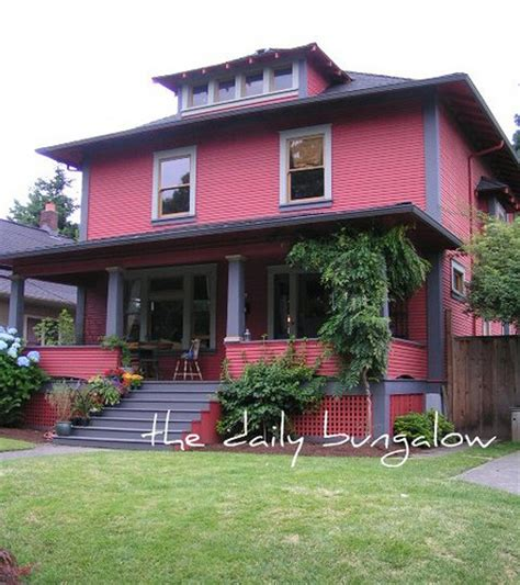 the american foursquare house portland style flickr