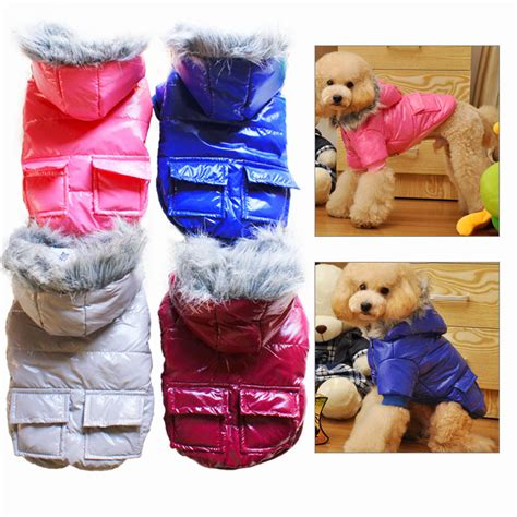 yorkie winter coats fur vest coat winter clothes for yorkie puppy chihuahua waterproof jackets