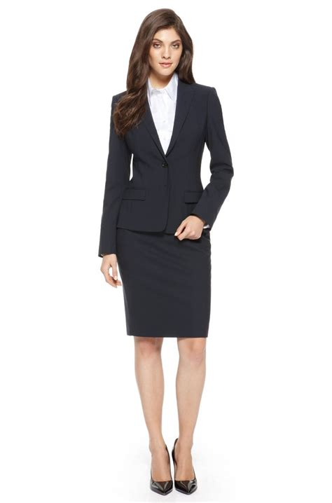 navy skirt suit kabutshi quot garde robe quot