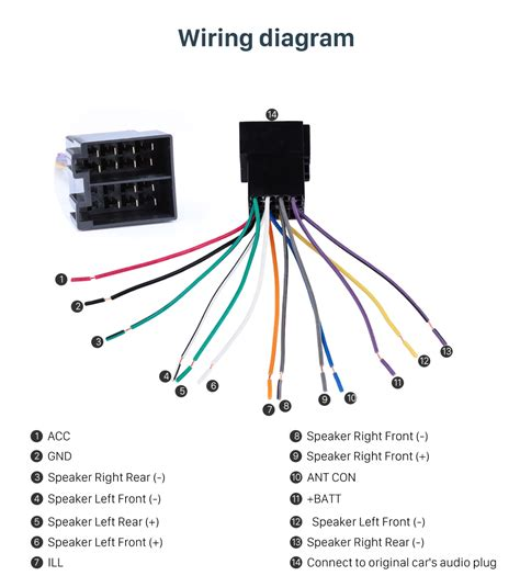 peugeot speakers wiring diagram wiring diagram with