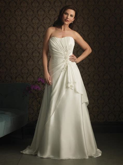 Elegant Plus size wedding dresses    zoombridal.com   PRLog