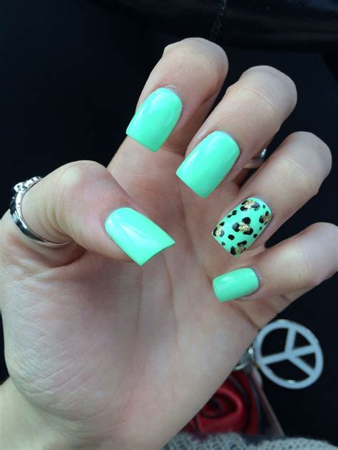 tiffany blue office on pinterest pedicure salon ideas the gallery for gt cute nails cheetah designs