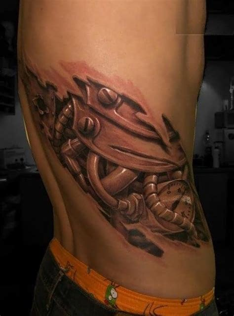 cyborg tattoos 12 best tattoos for on ribs images on