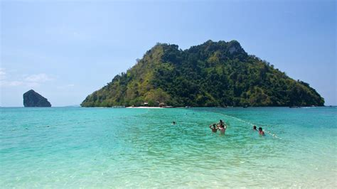 the island at the chicken island and tub island in krabi a day trip travel blog about southeast asia home is