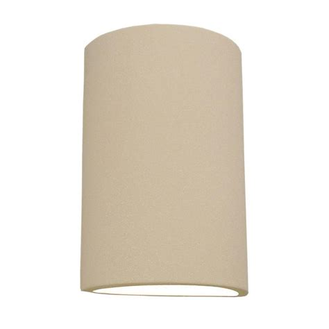 Ceramic Wall Sconce Filament Design Daniel 2 Light Paintable Bisque Ceramic Outdoor Wall Sconce Cli Edg805453 The