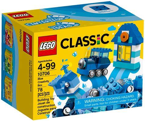 Termurah Lego Classic Creativity Box 10707 10706 lego classic blue creativity box