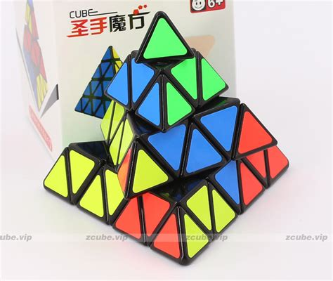 Rubik Yongjun 4x4 Layer shengshou 4x4 pyramid cube 4 layer