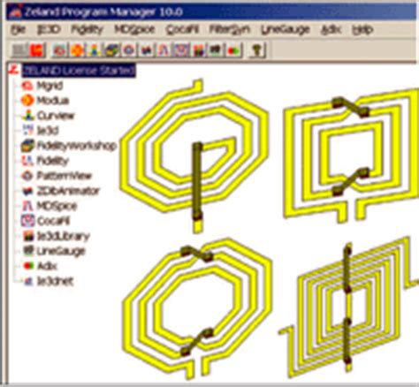 rf inductor design software em based design software for spiral inductors and transformers