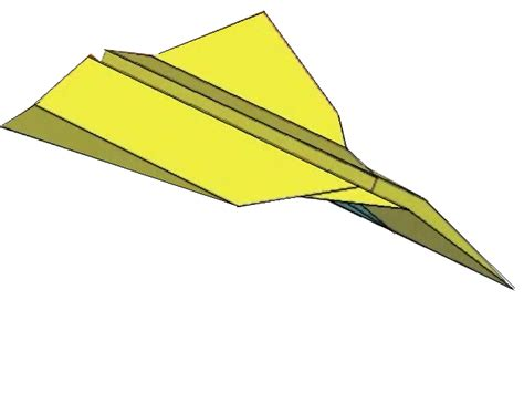 How To Make A Standard Paper Airplane - how to fold the standard paper airplane