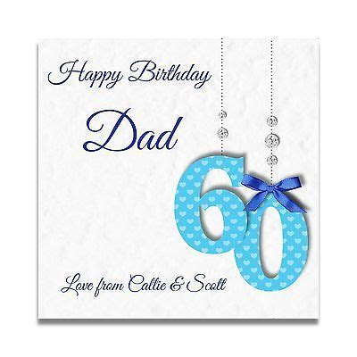 Handmade 60th Birthday Card Ideas - handmade personalised mens 60th 70th 80th