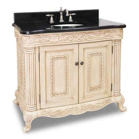 White Vanity With Granite Top by White Bathroom Vanity With Black Granite Top 36 Quot