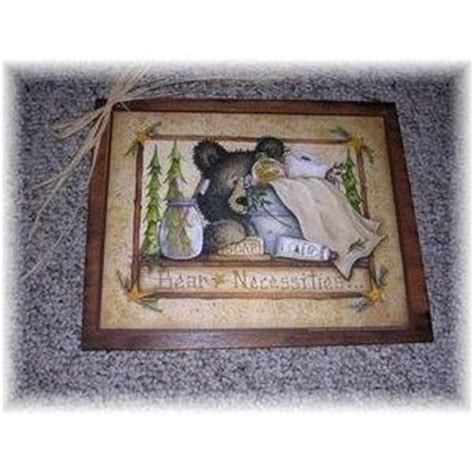 black bear outhouse wall plaque bathroom home decor accent 17 best images about bear bathroom decor on pinterest