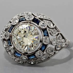 antique wedding rings atlanta topazery engagement rings