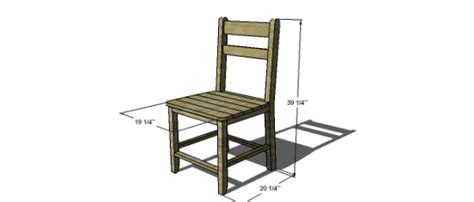farmhouse chair plans free diy furniture plans to build a shabby chic cottage