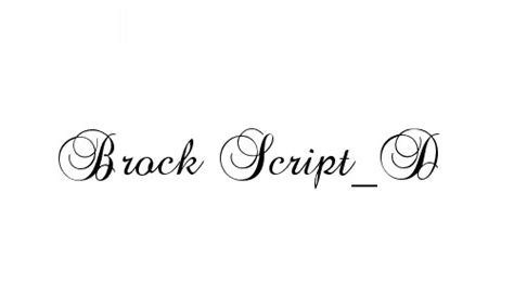 Wedding Font Brock Script by 20 Excellent Free Curly Fonts Colorlava