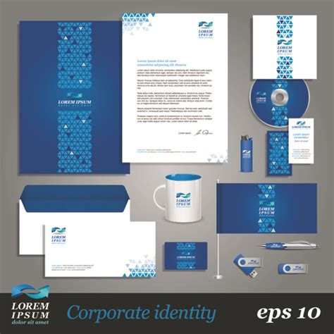 corporate identity kit vector templates 03 vector business vector cover free