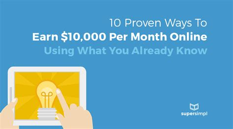 10 Proven Ways To Earn Money At Home This Year 10 Easy Ways To Make 100 Images 10 Easy Ways To Make
