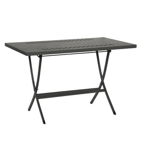 tavolo pieghevole giardino tavolo pieghevole in metallo per esterni hermes 120