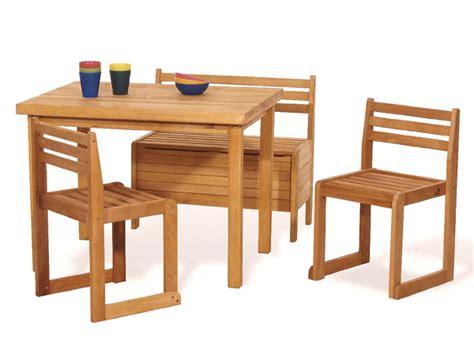 table 2 chaises et banc avec rangement 224 jouets