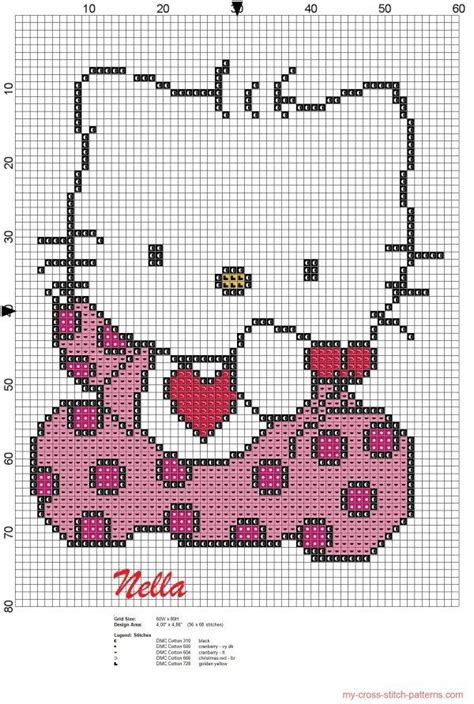 hello kitty cross stitch hello kitty cross stitch patterns free 20150318204348