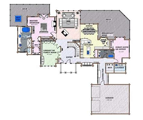 modern floor plans for new homes modern house designs and floor plans picture cottage