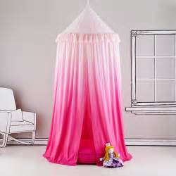 Girls Pink Canopy by Pink Ombre Play Canopy The Land Of Nod