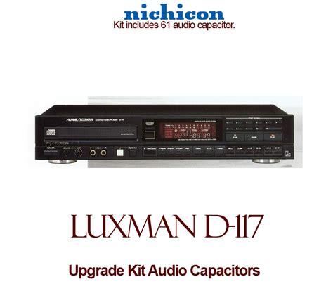 capacitor upgrade luxman d 117 upgrade kit audio capacitors