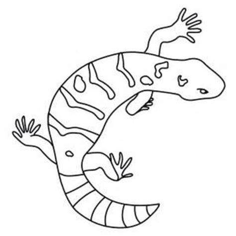coloring page gila monster gila monster page coloring pages
