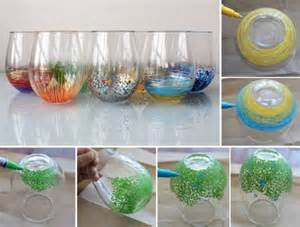 Decorating Ideas With Vases Diy Colorful Vase Decor Home Design Garden