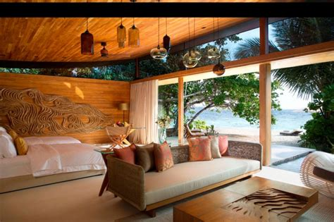 decorations soothing modern hunting themed living room with animal coco priv 233 kuda hithi island homedsgn
