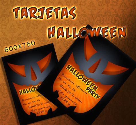 imagenes de halloween invitaciones tarjetas de invitaci 243 n para halloween imagui