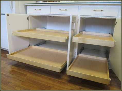 diy pull out shelves for kitchen cabinets home design ideas
