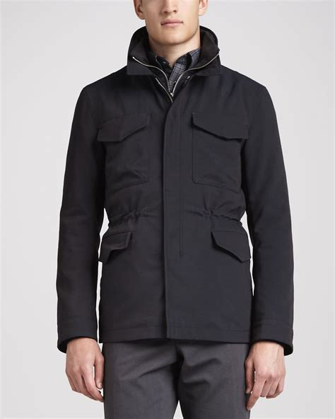 Moschino 3in1 lyst vince 3in1 tech jacket in blue for