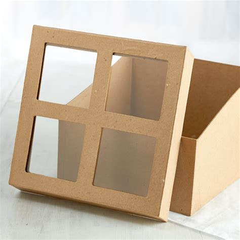 Paper Mache Craft Supplies - paper mache window box paper mache basic craft