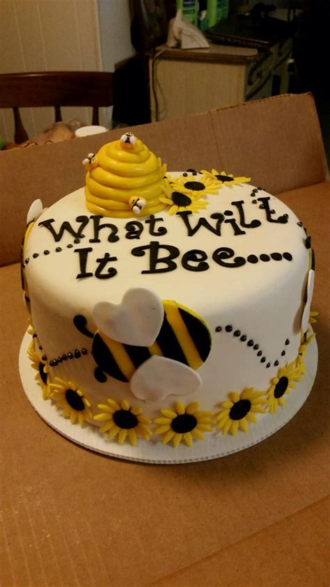 Bee Cake Decorations by Bee Baby Shower By Baby Ideas Neutral Theme